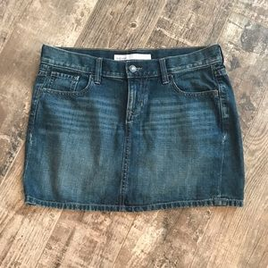 Old Navy Denim skirt factory fading size 4